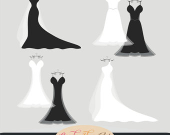 Gown clipart.