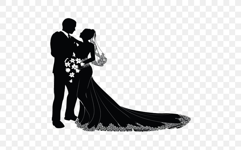 Wedding Couple Bridegroom Clip Art, PNG, 512x512px, Wedding.