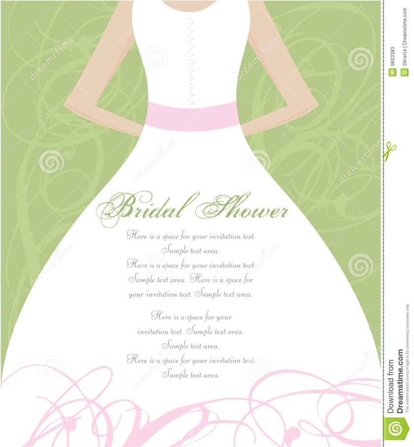 Bridal Shower Invitation Cards Backgrounds.