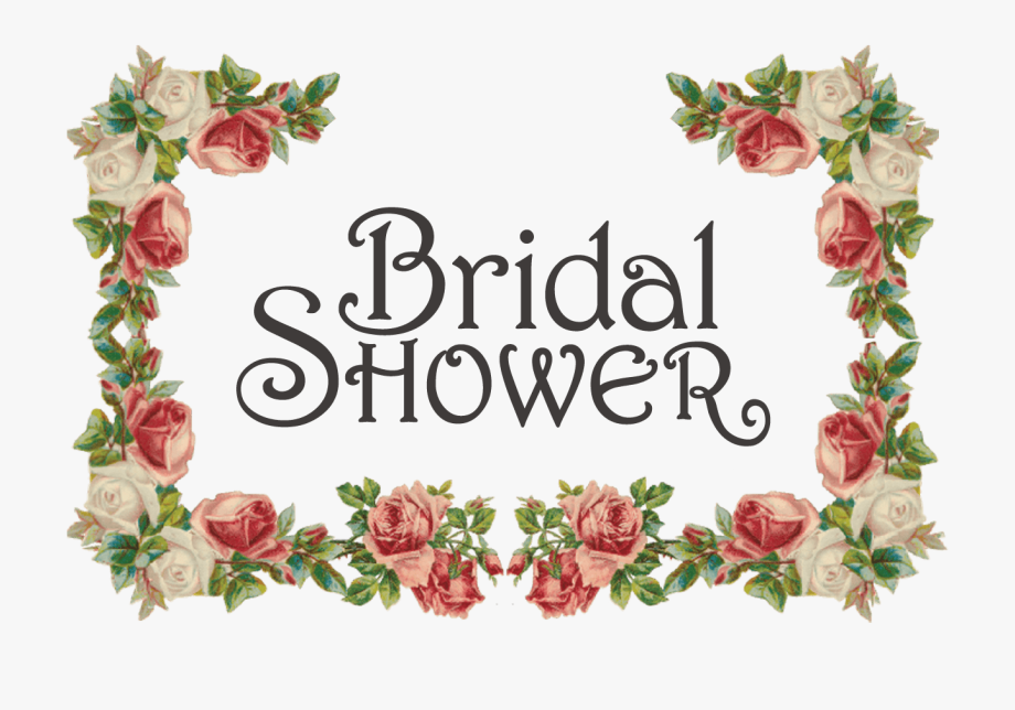 Floral Clipart Bridal Shower.