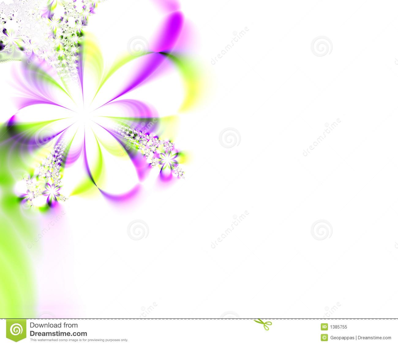 Flowers Flower Wedding Shower Invitation Stock Illustration.