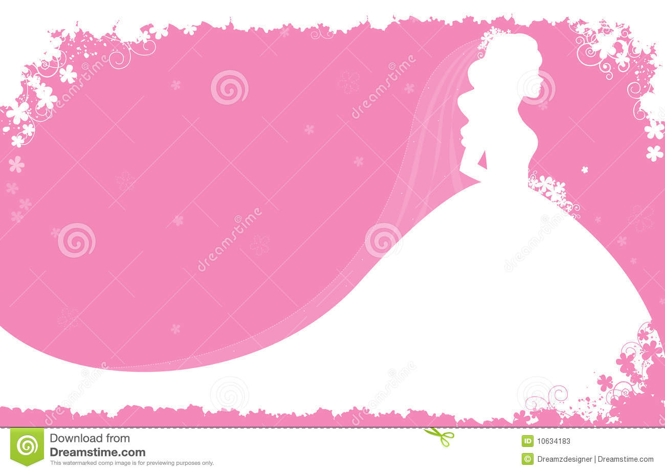 Bridal Shower Background Clipart.