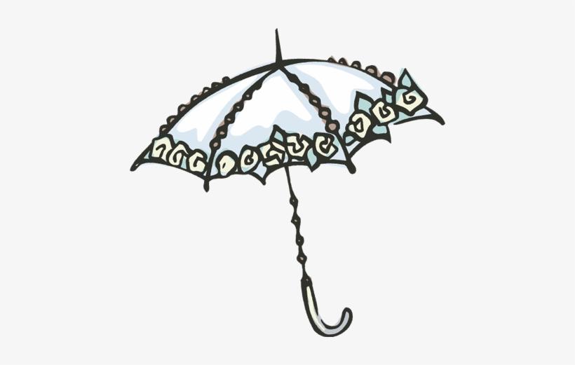 Umbrella Clipart Lace.