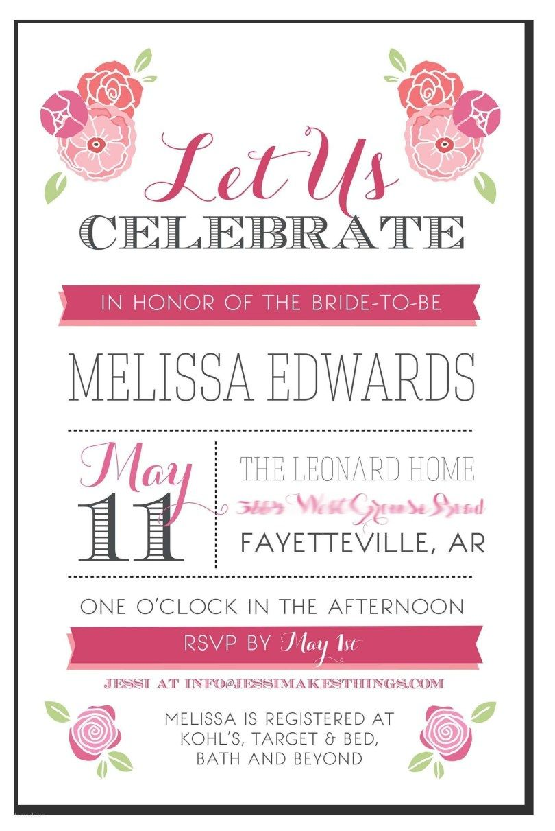 27+ Awesome Picture of Wedding Shower Invitation Wording.