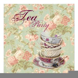 Bridal Tea Party Clipart.