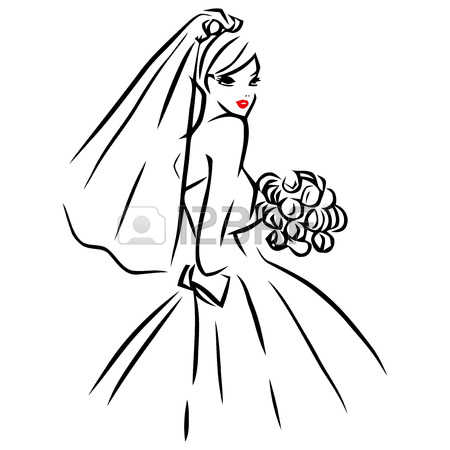 4,614 Bridal Veil Stock Illustrations, Cliparts And Royalty Free.