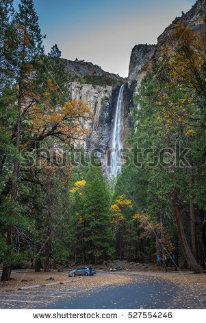 Bridalveil Falls Stock Photos, Royalty.
