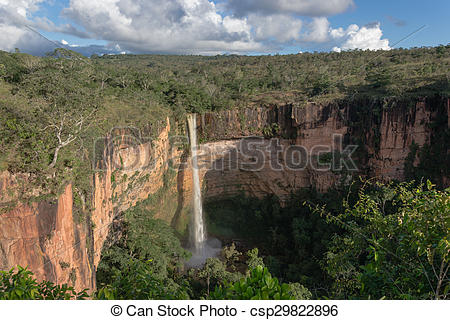 Stock Photographs of Bridal Veil Falls.
