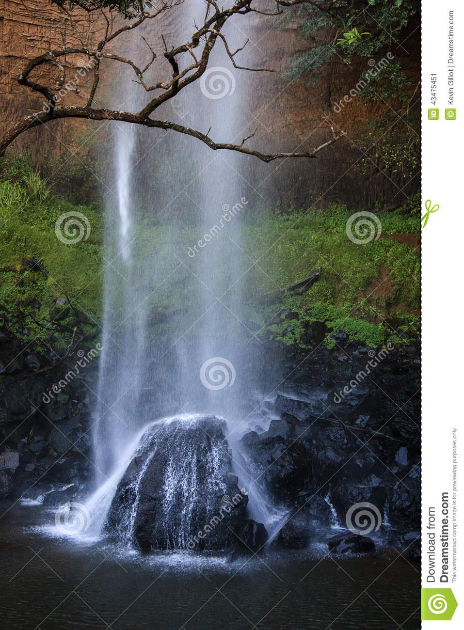Bridal Veil Falls Stock Photo.