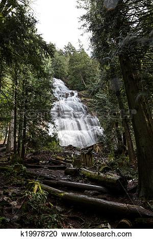 Stock Photography of Bridal Veil Falls k19978720.