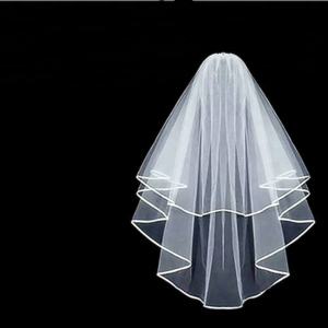 Beautiful Bride Veil Wedding Veil for Bridal Shower Party Wedding and Dress  Collocation.