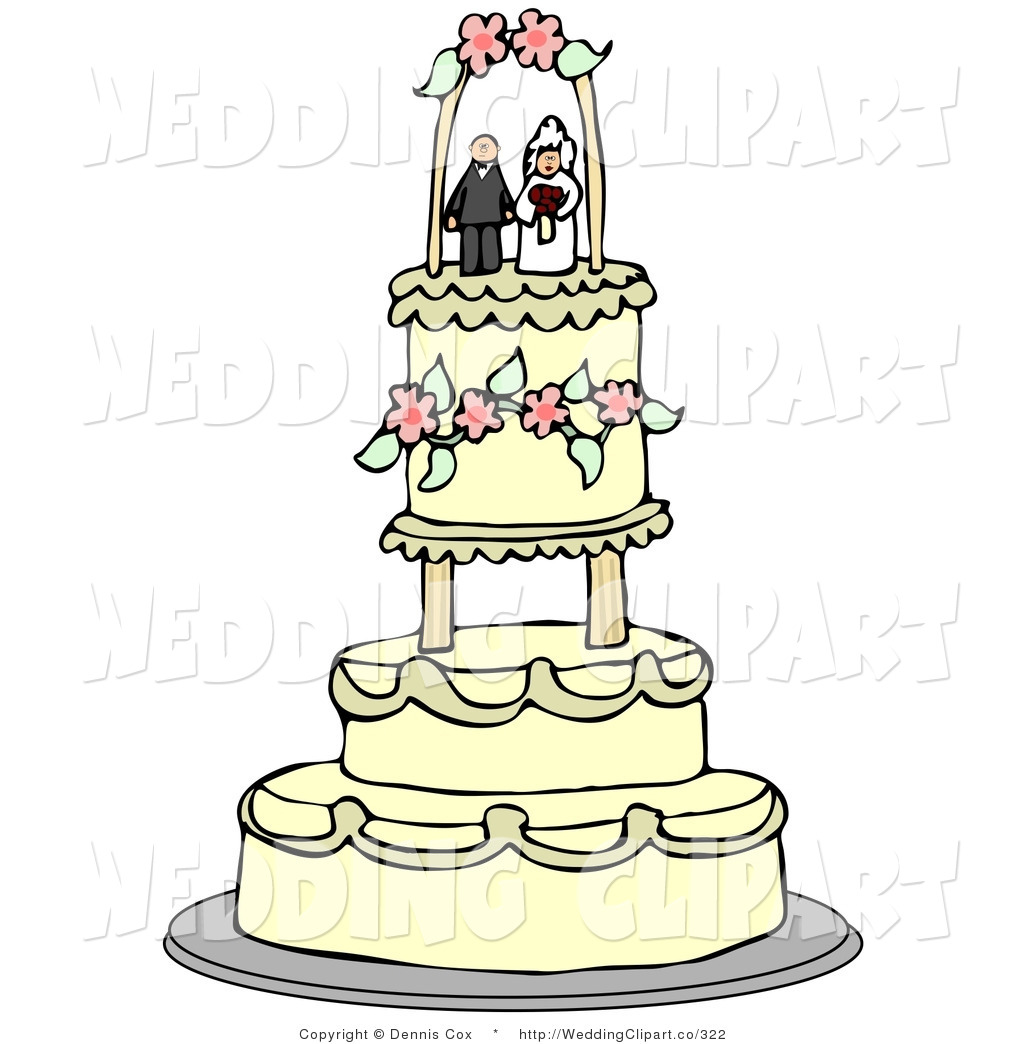 Royalty Free Cake Topper Stock Wedding Designs.