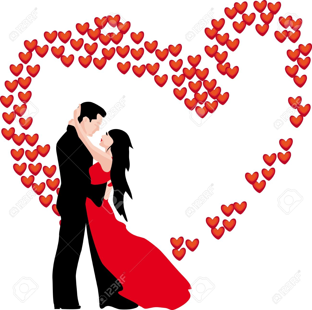 Bride and groom clipart wedding.