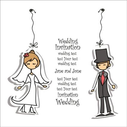 Bride and groom clipart free vector download 3 files for.