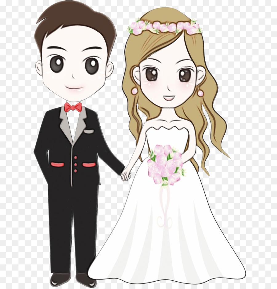 Bride And Groom Cartoon.