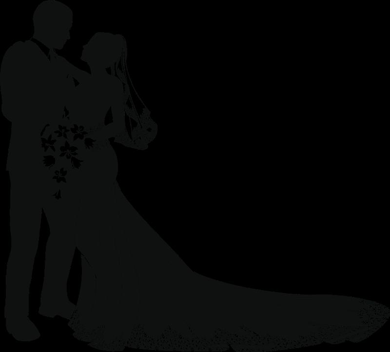 Wedding Bridegroom couple Clip art.