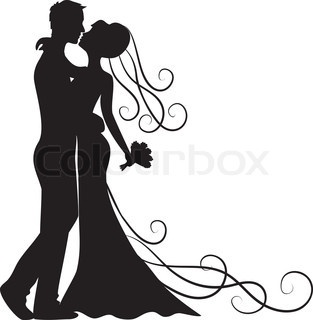 Bride and groom clipart 12 » Clipart Station.