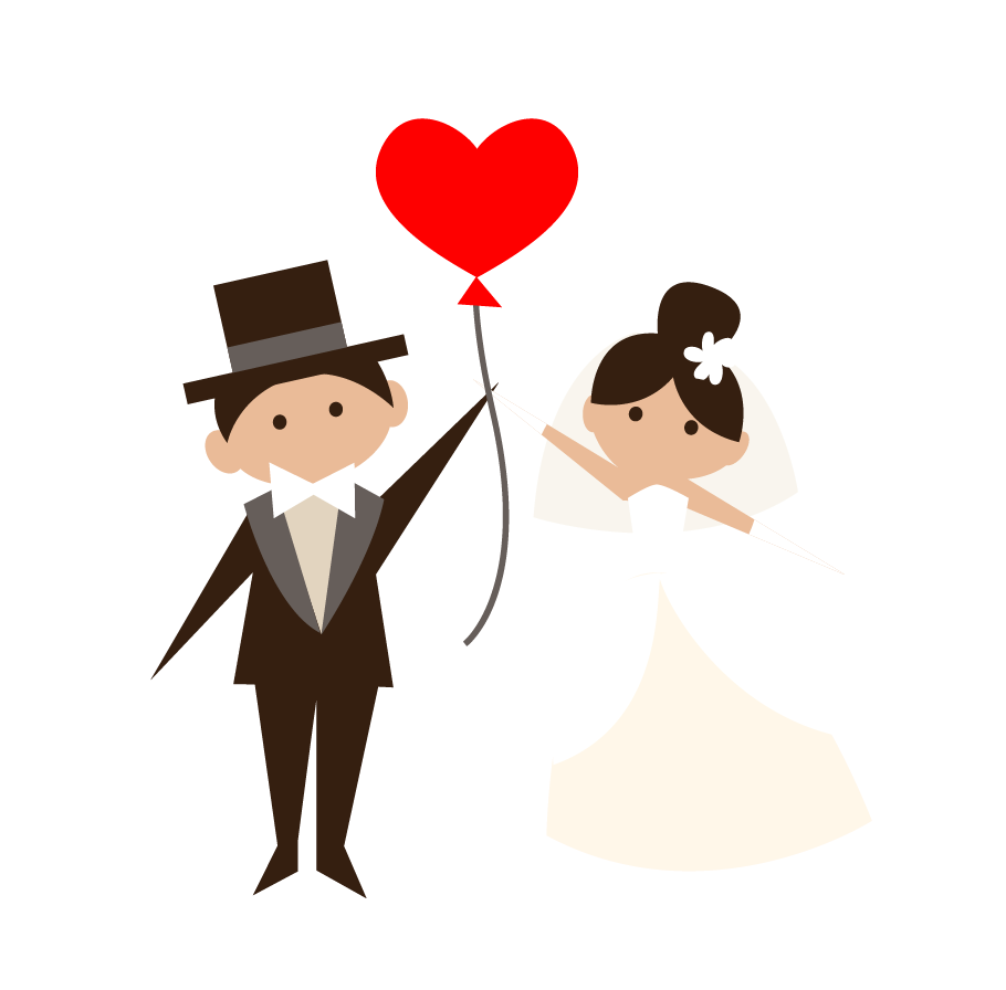 Bride And Groom Clipart Free at GetDrawings.com.