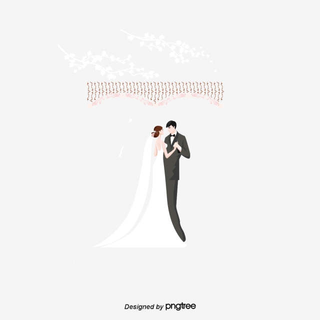 Bride And Groom Png, Vector, PSD, and Clipart With Transparent.