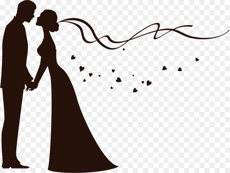 Free Bride And Groom Silhouette Wedding Clipart, Download Free Clip.