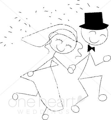 Wedding Recessional Clip Art.