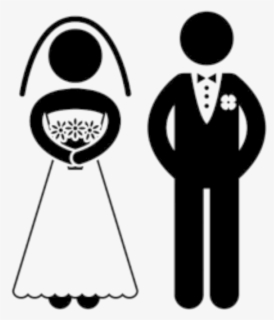 Free Bride And Groom Clip Art with No Background.