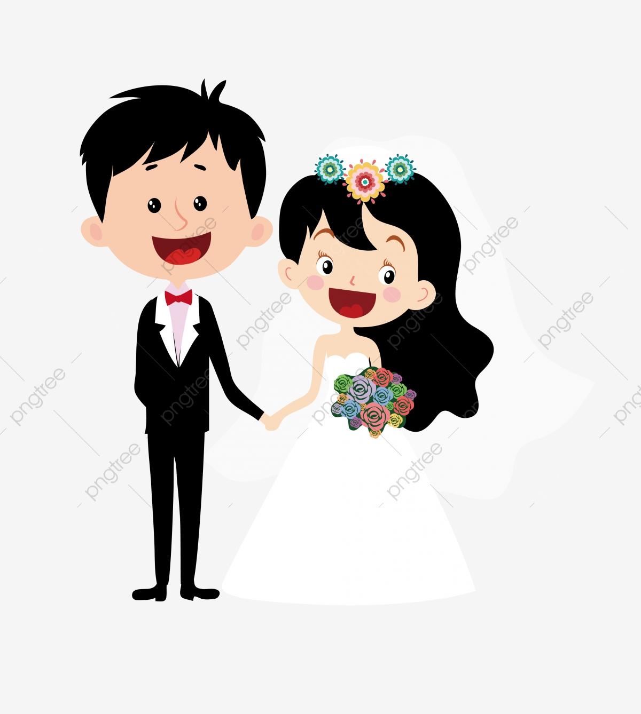 Wedding Cartoon Cartoon Couple Cartoon Character Cartoon Bride And.