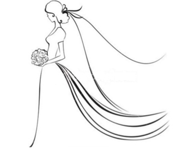 free bridal clipart images.