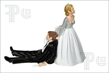 bride dragging groom clip art.