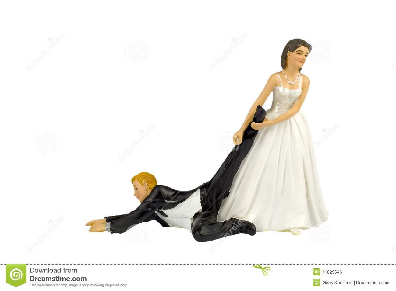 Bride dragging groom clipart » Clipart Portal.