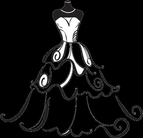 Jpg Freeuse Stock Dress Bride Clip Art.