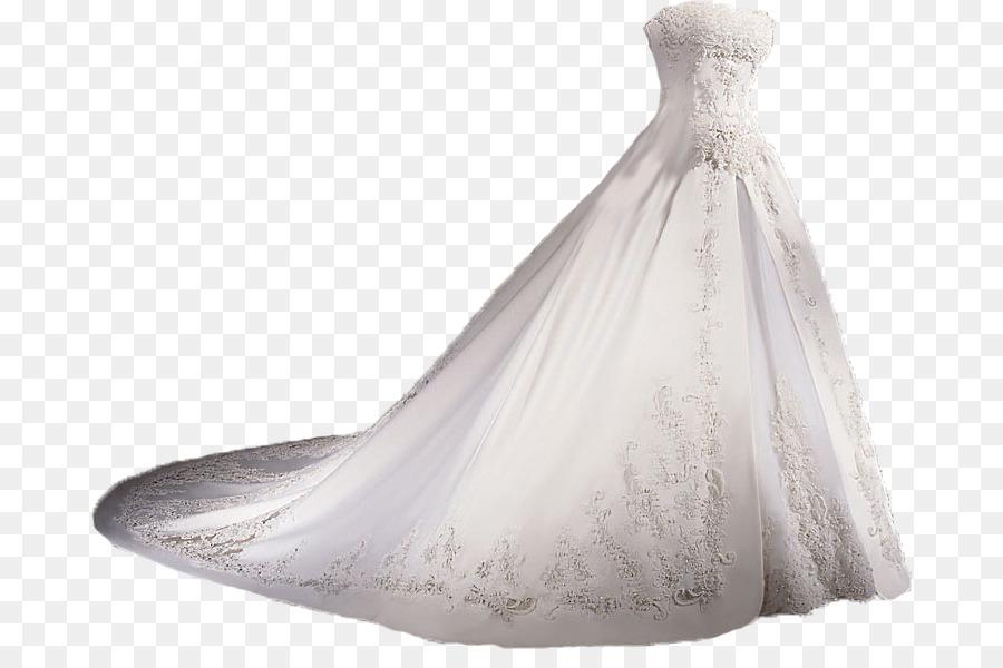 Wedding Dress png download.