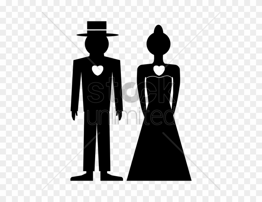 Silhouette Groom Clipart Bridegroom Clip Art.