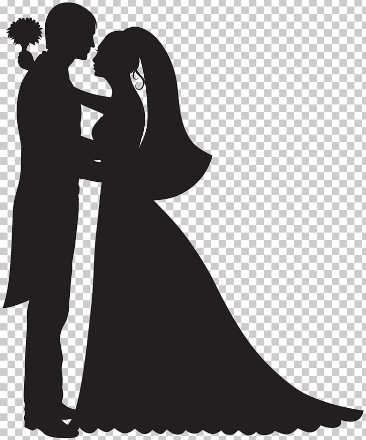 Bridegroom Wedding Cake Topper PNG, Clipart, Black And White, Bride.