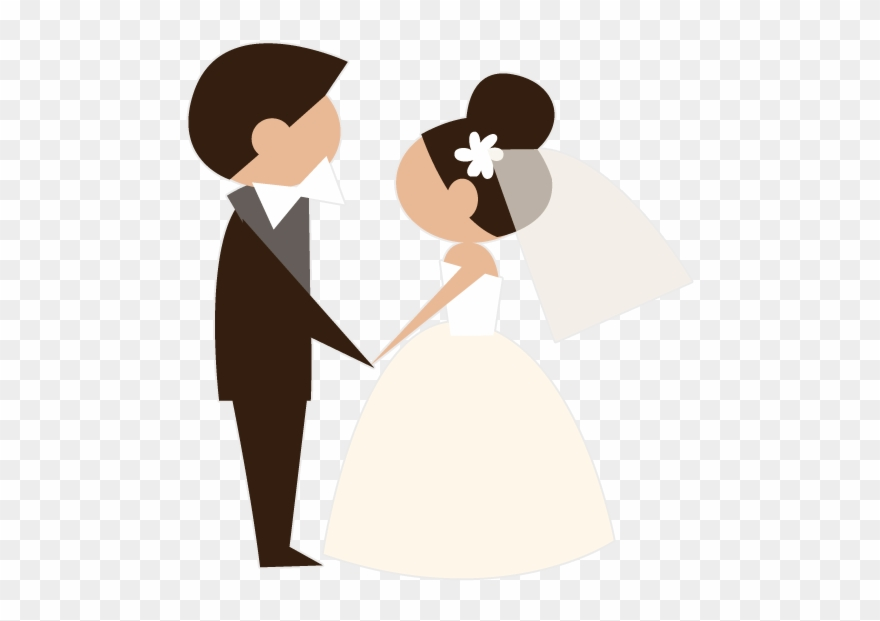 Animated Brides Grooms Wedding Party Stickers Messages.