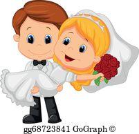 Bride Groom Clip Art.