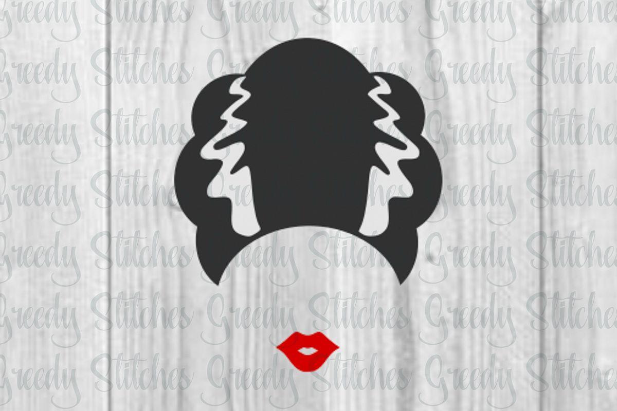 Bride of Frankenstein SVG.