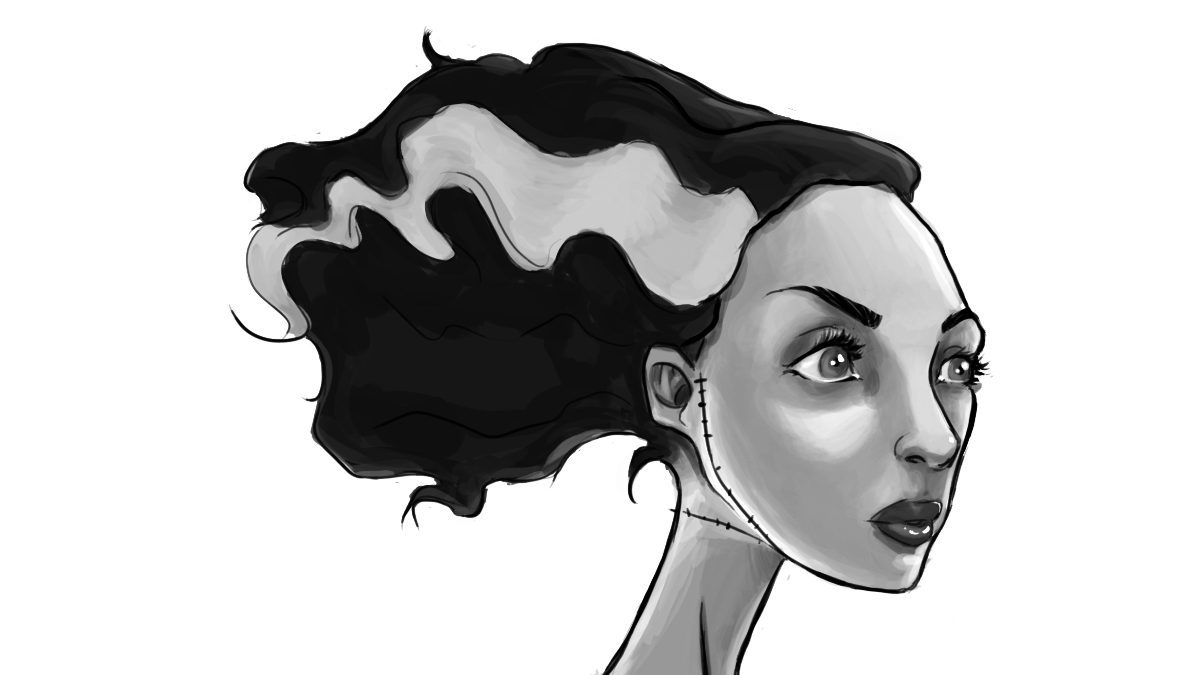 Bride of Frankenstein • KDJouineau Art.