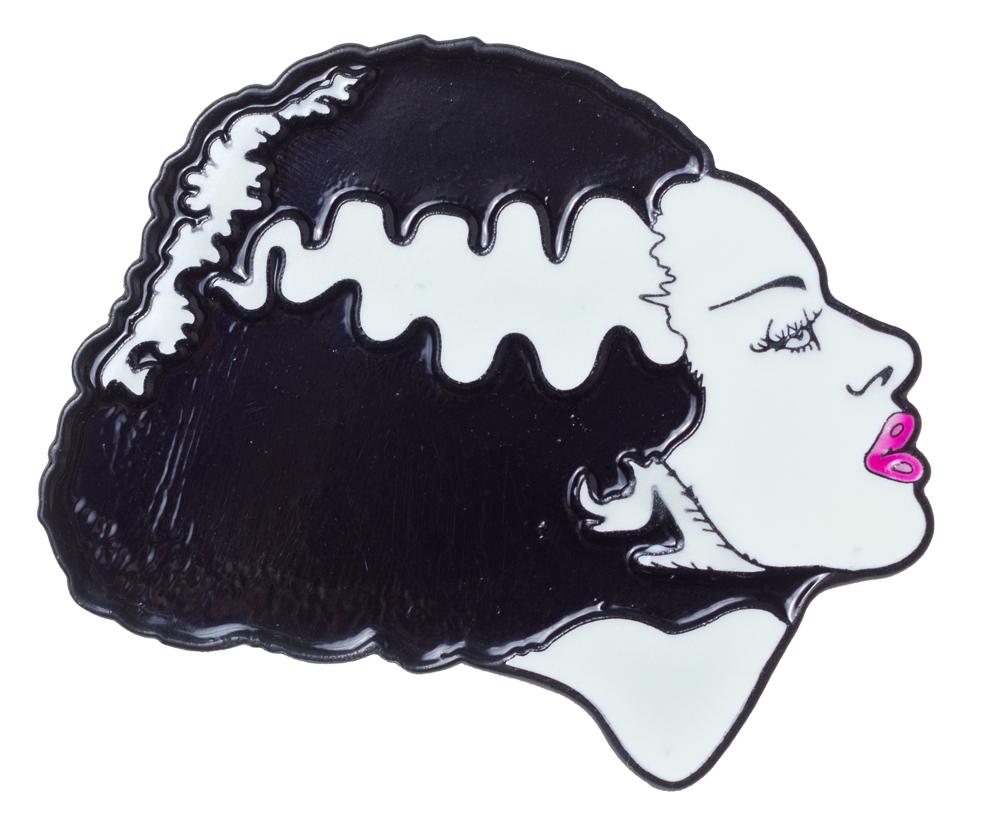 Bride Of Frankenstein Badge.