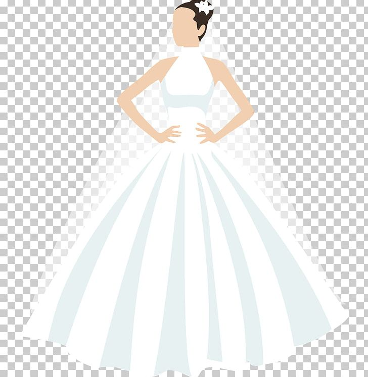 Wedding Dress Bride White Party Dress Pattern PNG, Clipart, Bridal.