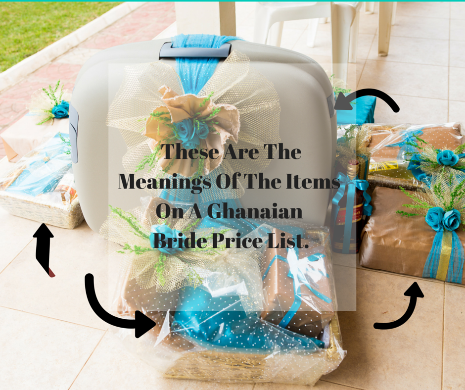 The Significance of Items on The Ghanaian Bride Price List — Naa.