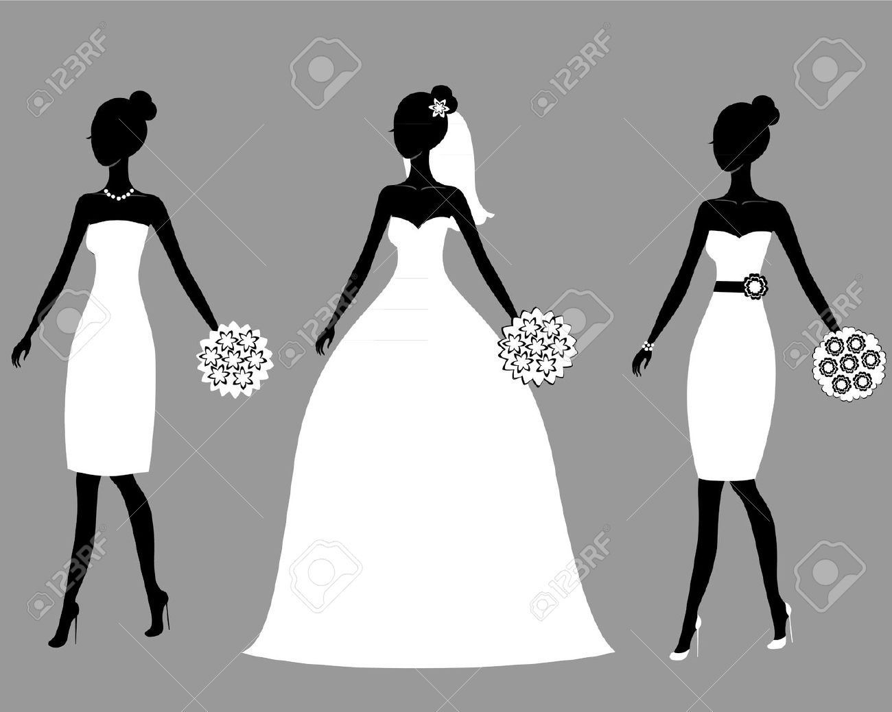 Bride silhouette clipart free 4 » Clipart Portal.