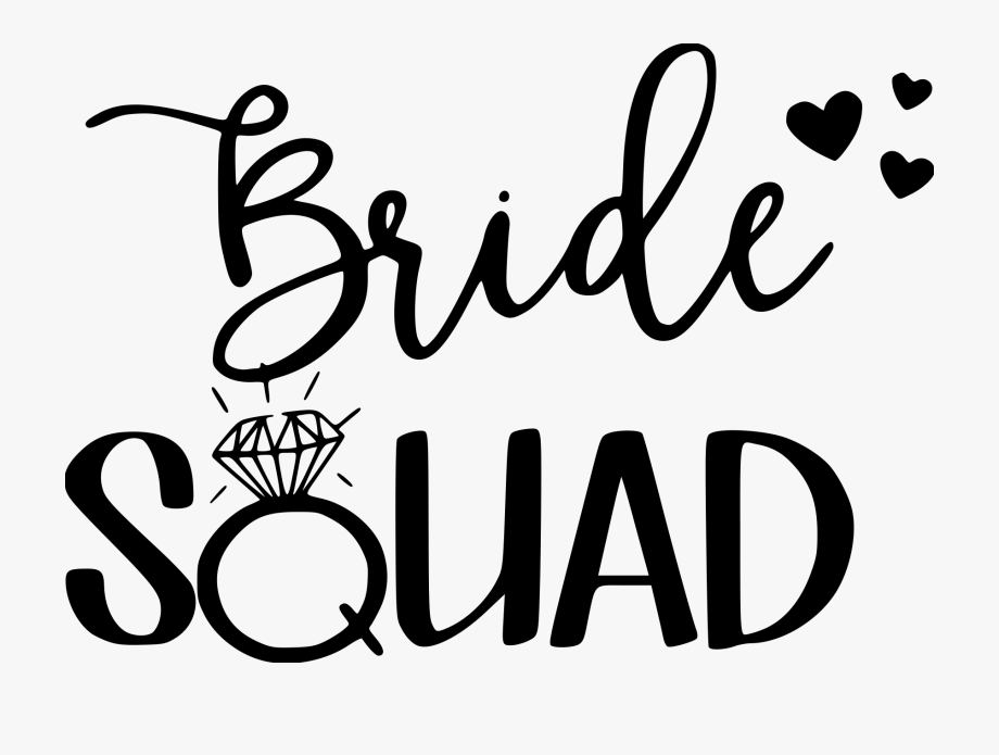 Graphic Freeuse Stock Groom Clipart Bride Squad.