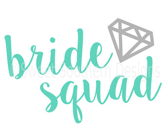 Team Bride Clipart.