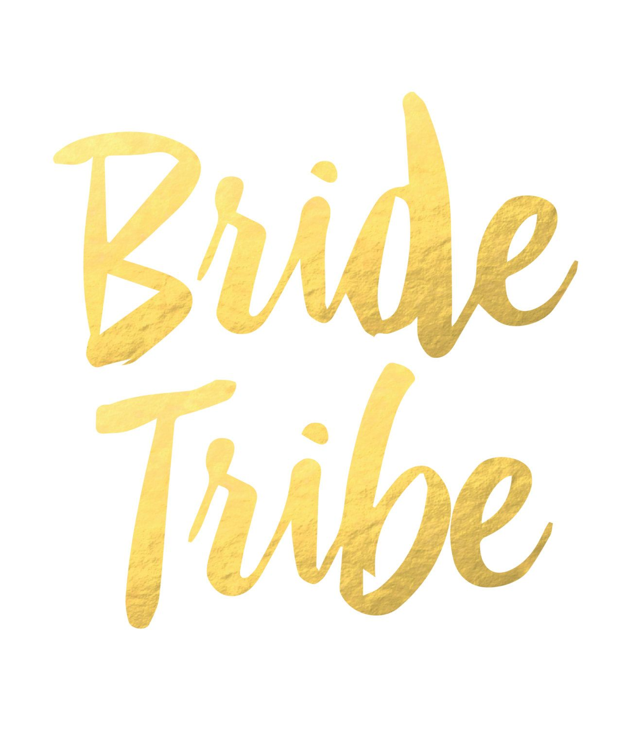 Bride Tribe Tattoo. Bachelorette Tattoo. Flash tattoo.