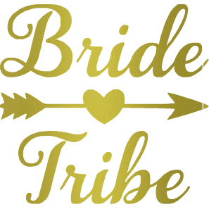 Bride Tribe Decal.