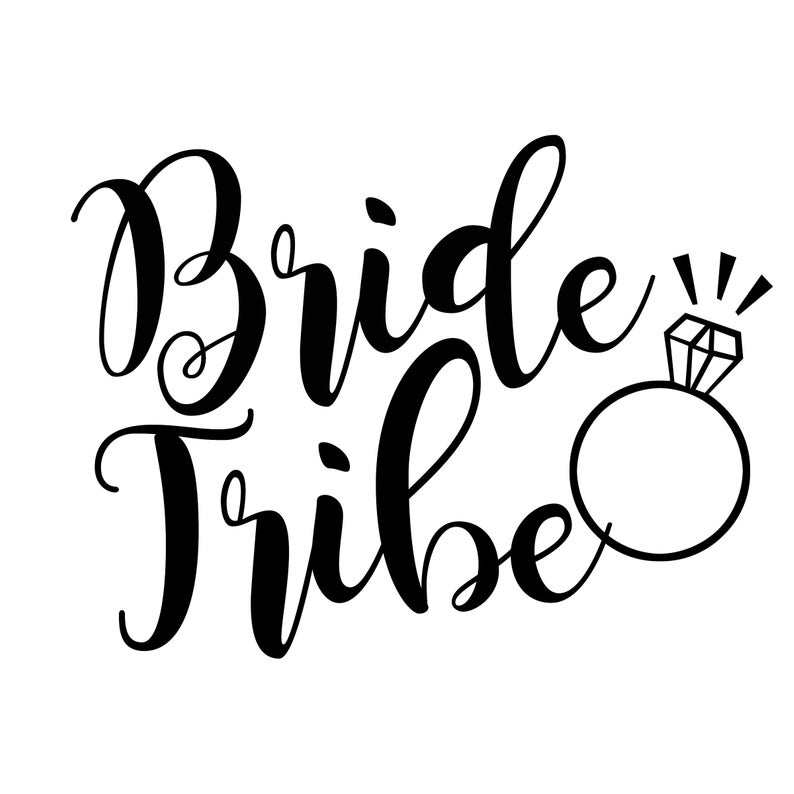 Bride Tribe PNG File.