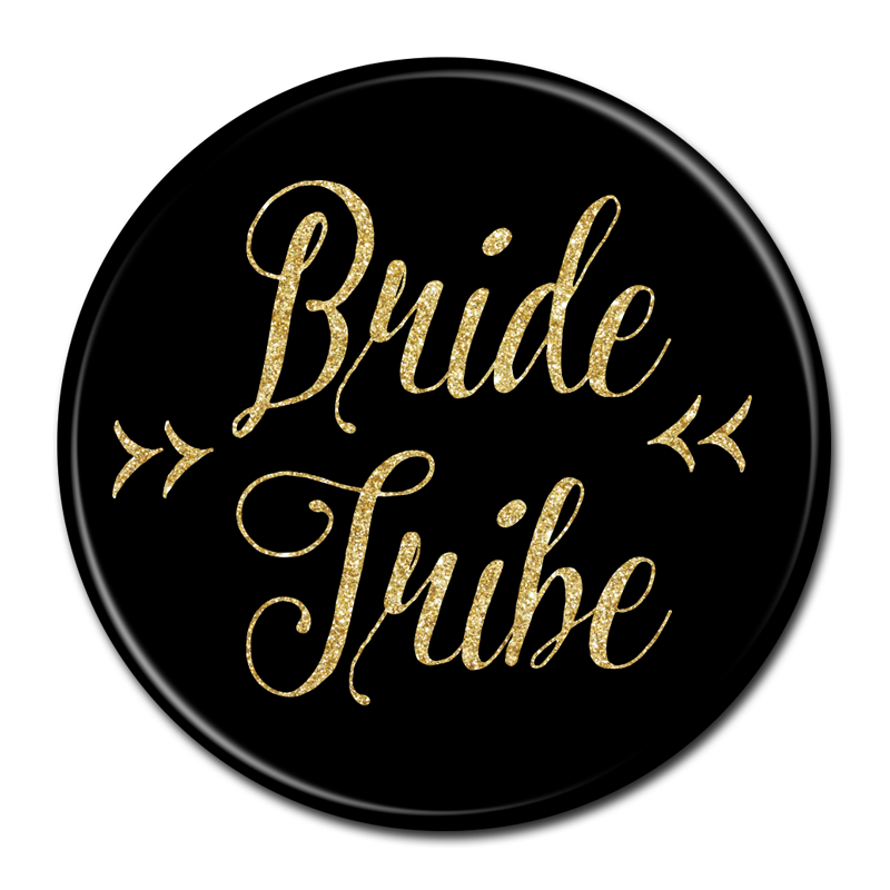 BRIDE TRIBE BUTTON.