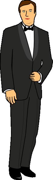 Groom Clipart.