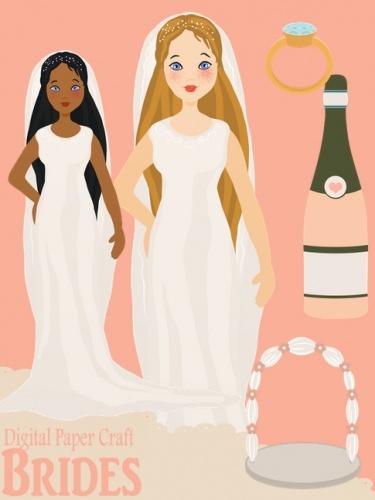 Clipart Brides.